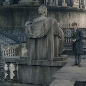 Les Animaux fantastiques : Les crimes de Grindelwald : Photo Eddie Redmayne, Jude Law