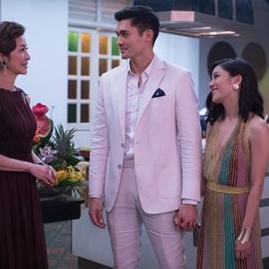 Crazy Rich Asians : Photo Constance Wu, Henry Golding, Michelle Yeoh