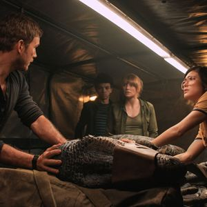 Jurassic World: Fallen Kingdom : Photo Bryce Dallas Howard, Chris Pratt, Daniella Pineda, Justice Smith