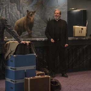 Sale temps à l'hôtel El Royale : Photo Cynthia Erivo, Jeff Bridges, Jon Hamm