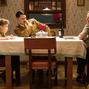 Jojo Rabbit : Photo Roman Griffin Davis, Scarlett Johansson, Taika Waititi