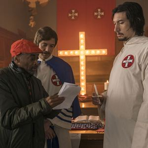 BlacKkKlansman - J'ai infiltré le Ku Klux Klan : Photo Adam Driver, Spike Lee, Topher Grace