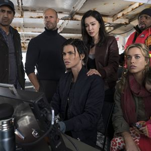 En eaux troubles : Photo Bingbing Li, Cliff Curtis, Jason Statham, Jessica McNamee, Page Kennedy