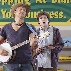 Bienvenue à Zombieland : Photo Jesse Eisenberg, Woody Harrelson