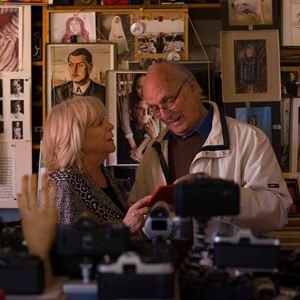 À la recherche d'Ingmar Bergman : Photo Carlos Saura, Margarethe von Trotta