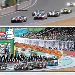 Michel Vaillant, Le rêve du Mans : Photo