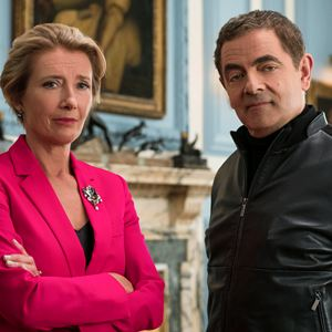 Johnny English contre-attaque : Photo Emma Thompson, Rowan Atkinson