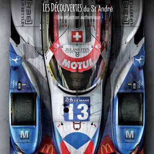 Michel Vaillant, Le rêve du Mans : Affiche