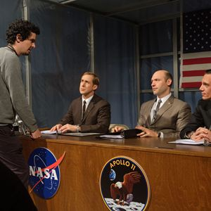 First Man - le premier homme sur la Lune : Photo Kyle Chandler, Ryan Gosling