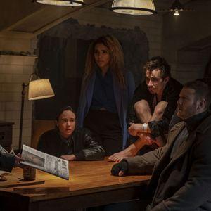 Photo Aidan Gallagher, David Castaneda, Ellen Page, Emmy Raver-Lampman, Robert Sheehan