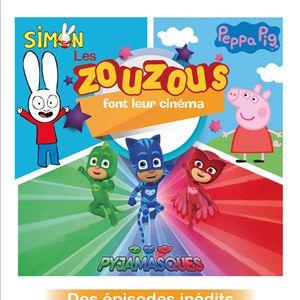 Les Zouzous font leur cinéma (CGR Events) : Affiche