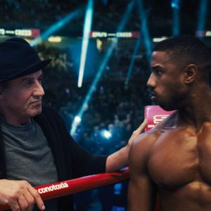 Creed II : Photo Michael B. Jordan, Sylvester Stallone