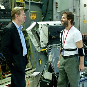 Man of Steel : Photo Christopher Nolan, Zack Snyder