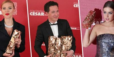 Adèle, Guillaume, Scarlett... Les 39e César en 39 photos !