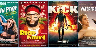 Ces films qui cartonnent à l'étranger: Un prof pas comme les autres, Recep Ivedik 4, Kick...