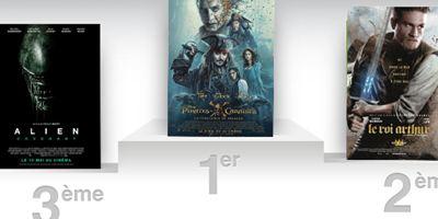 Box Office France : Pirates des Caraïbes 5 à l'assaut !