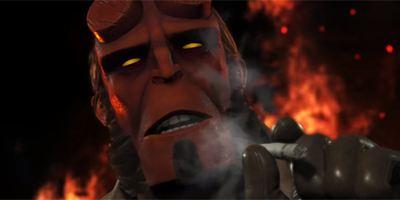 Hellboy s'invite dans le jeu Injustice 2