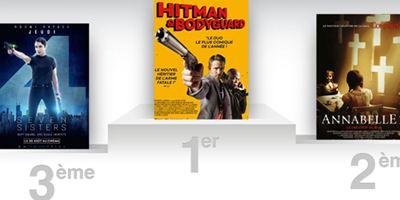 Box-office US : Hitman & Bodyguard résiste en tête