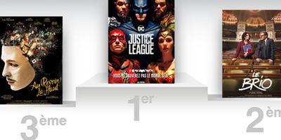 Box-office France : la Justice League conserve la première place