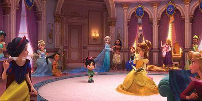 Elsa, Vaiana, Ariel, Cendrillon... Toutes les princesses Disney réunies dans Les Mondes de Ralph !