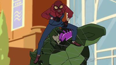 Spider-Man affronte le Scorpion dans l'extrait de sa nouvelle série animée