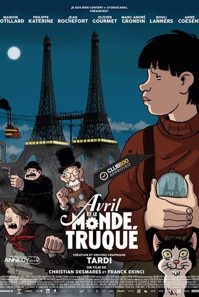 Avril et le monde truqué [BDRip] Francais