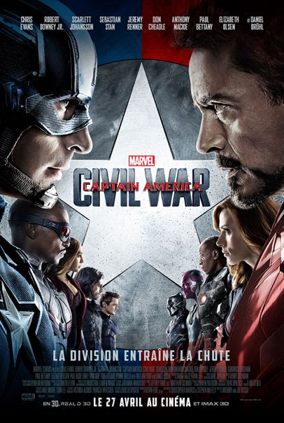 Captain America: Civil War [BDRip] Francais