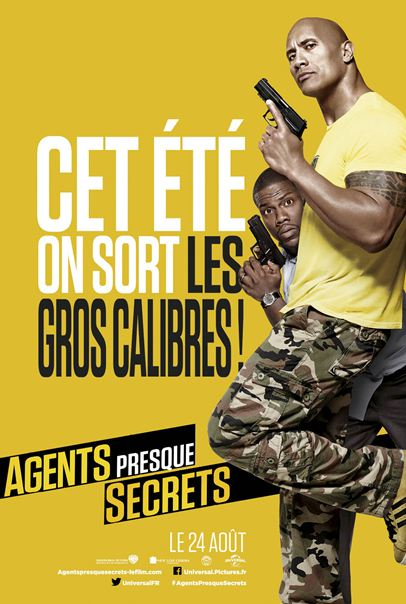 Agents presque secrets [HDRip] Francais