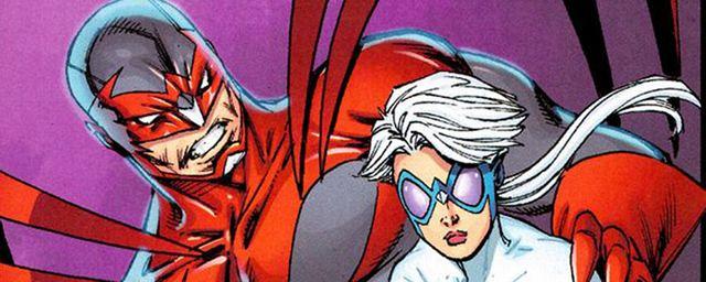 Titans : première photo de Hawk et Dove dans la série live DC Comics