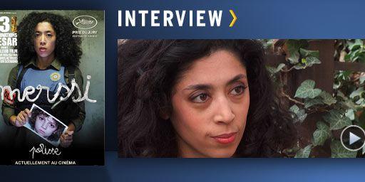 Portrait d'une jeune actrice : Naidra Ayadi [VIDEO]