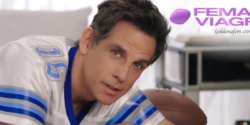 Ben Stiller vous présente le Viagra féminin