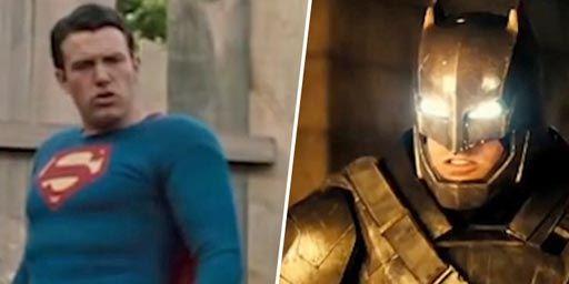 Affleck v Affleck : et s'il jouait à la fois Batman ET Superman ?