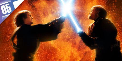 "5 duels de sabre laser cultes dans la saga ""Star Wars"""