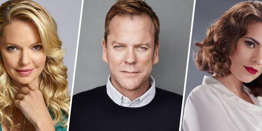 Kiefer Sutherland, Katherine Heigl, Hayley Atwell... Ils seront bientôt de retour à la télé !