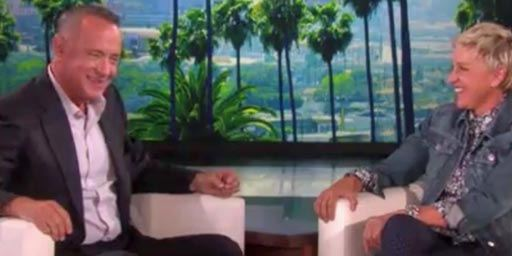 Quand Woody rencontre Dory : Tom Hanks et Ellen DeGeneres improvisent une petite scène !