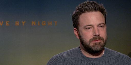 """Ben Affleck : """"Live by Night a beaucoup de similitudes avec Il était une fois en Amérique"""""""