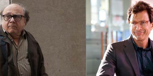 Danny DeVito et Jeff Goldblum réunis pour la première fois pour une série Amazon
