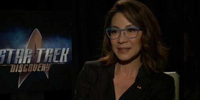 Star Trek Discovery : rencontre avec Michelle Yeoh, alias le capitaine Philippa Georgiou