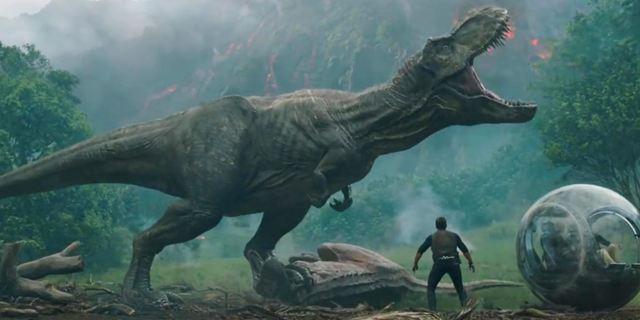 Jurassic World 2 : le T-Rex, les vélociraptors et Jeff Goldblum reviennent dans la bande-annonce explosive de Fallen Kingdom