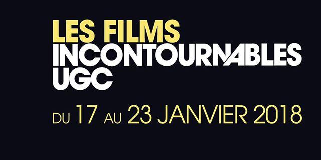 La programmation des Incontournables UGC 2018 est là !