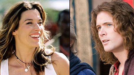 "Brooke Langton et John Reardon dans ""Supernatural"""