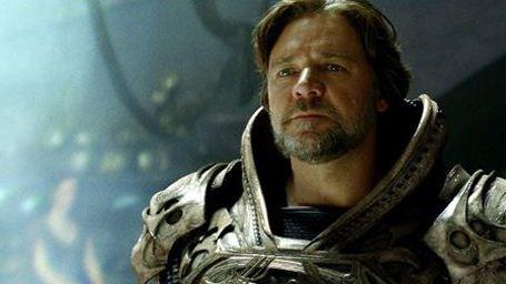 Batman vs Superman : Russell Crowe ne sera pas dans la suite de Man of Steel !
