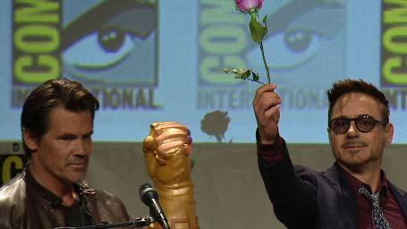 Comic-Con : les Avengers font le show au panel Marvel