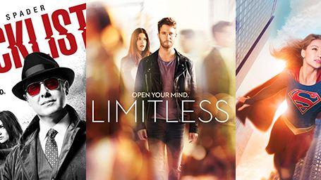 Supergirl, Limitless, Homeland : le plein d'affiches des séries !