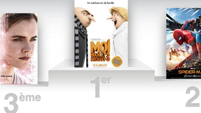 Box-office France : Moi, moche et méchant 3 toujours au top