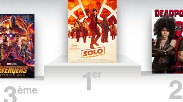 Box-office France : Solo A Star Wars Story en difficulté, Deadpool 2 en embuscade