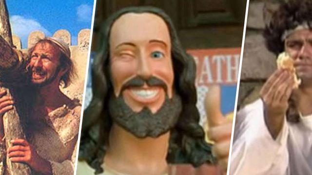 Christ(off), Les Inconnus, La Vie de Brian… : 5 Jesus de l'écran à ne pas prendre au sérieux !