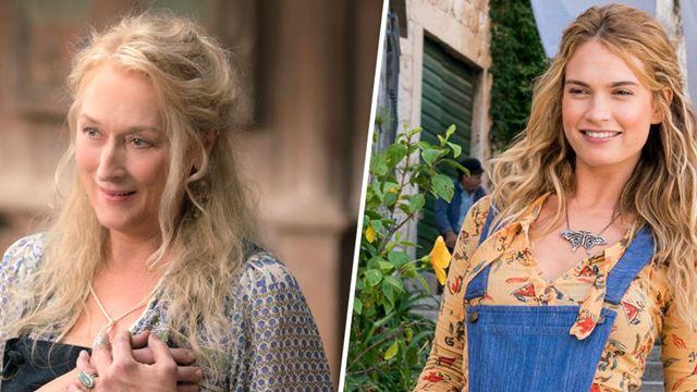 Mamma Mia 2 : Meryl Streep / Lily James... Les acteurs et leur version jeune