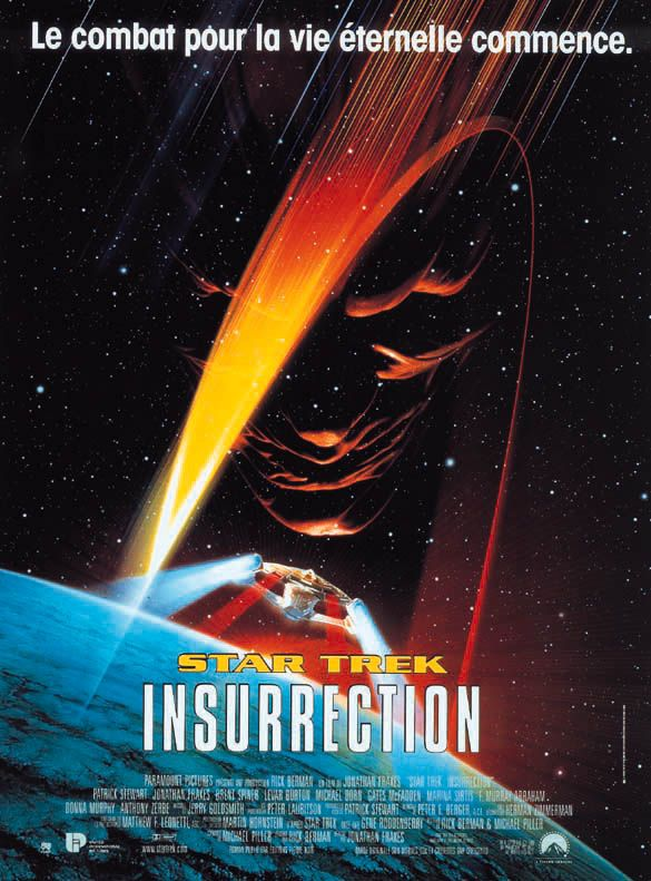 Star Trek 9 : Insurrection affiche