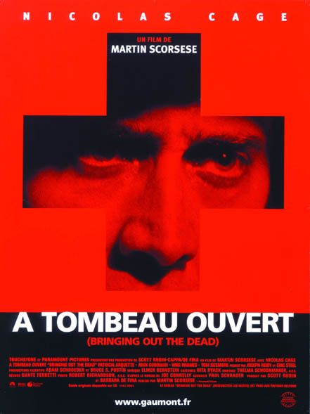 A tombeau ouvert (Bringing out the Dead) affiche